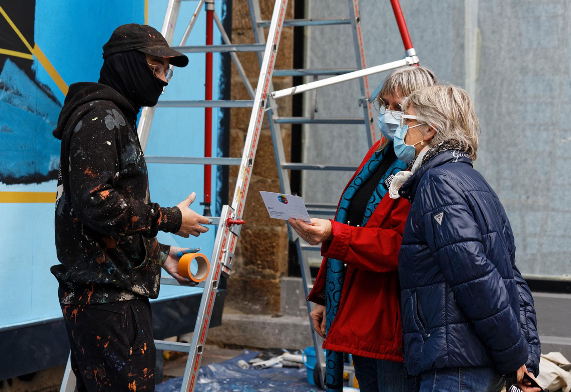 Felix Rodewaldt M.U.R de Rennes membres association - photo Monique Sammut