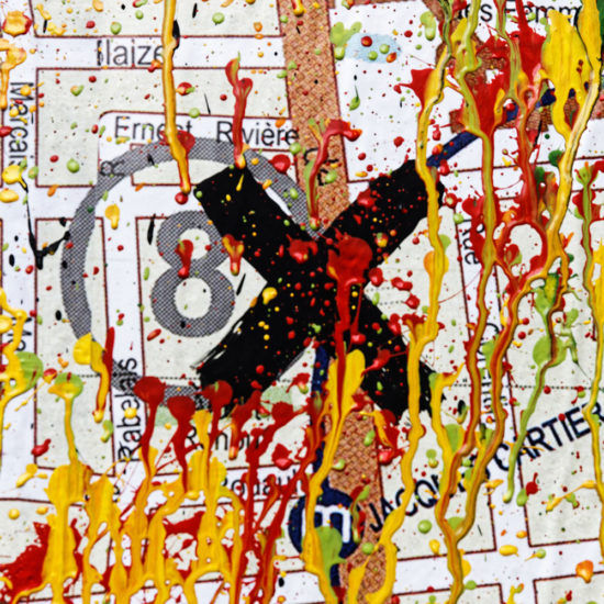 # Mur 15 War! détail du plan coloré
